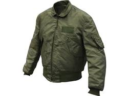 Military Surplus US Flyers Jacket Cold Weather Grade 1 Olive Drab Medium Regular