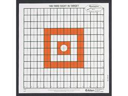 Remington 100 Yard Sight-In Paper Target Pack of 12