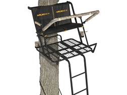Muddy Outdoors The Nexus 20' Double Ladder Treestand Steel Black