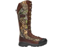 "LaCrosse Venom NWTF 18"" Waterproof Snake Boots Leather and Nylon Mossy Oak Obsession Camo Men's"