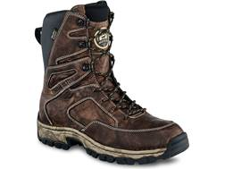 "Irish Setter Havoc XT 10"" Waterproof Hunting Boots Leather Brown Men's 9.5 D"