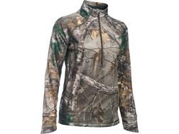 Under Armour Women's UA Armour Fleece Camp 1/2 Zip Jacket Polyester Realtree Xtra Camo