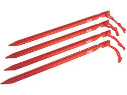 "Coleman 9"" Heavy Duty Tent Stake Aluminum Pack of 4"