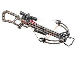 Wicked Ridge Warrior Ultra-Lite Crossbow Package with Multi-Line Scope Mossy Oak Break Up Country...