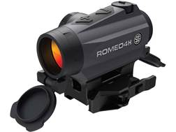 Sig Sauer ROMEO4H Red Dot Sight 1x Ballistic Reticle Torx and Quick-Release Mounts Graphite
