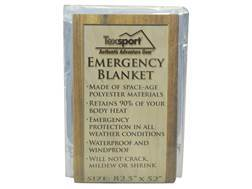 "Texsport Polarshield Emergency Survival Blanket 82"" x 50"""