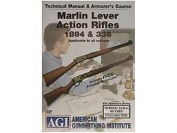 "American Gunsmithing Institute (AGI) Technical Manual & Armorer's Course Video ""Marlin Lever Acti..."