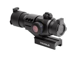 TRUGLO Triton Red Dot Sight 30mm Tube 1x 5 MOA Dot Red, Green, and Blue with Integral Weaver-Styl...