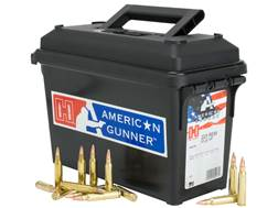 Hornady American Gunner Ammunition 223 Remington 55 Grain Hollow Point Ammo Can of 247