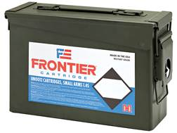 Frontier Cartridge Military Grade Ammunition 5.56x45mm NATO 62 Grain Hornady Full Metal Jacket Bo...