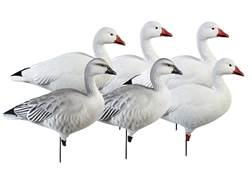 GHG Pro-Grade Full Body Snow Goose Decoy Pack of 6