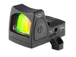 Trijicon RMR Reflex Red Dot Sight Adjustable LED 3.25 MOA Red Dot with RM66 ACOG Mt Matte