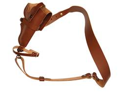 Hunter 68-400 3 in 1 Bandolier Holster Right Hand S&W Governor Leather Brown