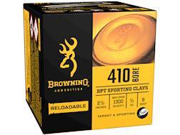 "Browning BPT Target Ammunition 410 Bore 2-1/2"" 1/2 oz #8 Shot"