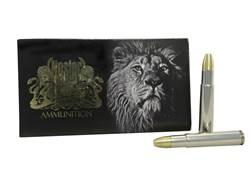Nosler Safari Ammunition 505 Gibbs 525 Grain Solid Box of 10
