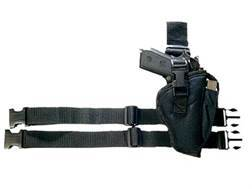 Bulldog Pro Series Tactical Leg Holster Right Hand 1911 Officer, Glock 17, 19, 22, 23, 31,  32, 3...