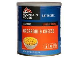 Mountain House 9 Serving Macaroni and Cheese Freeze Dried Food #10 Can