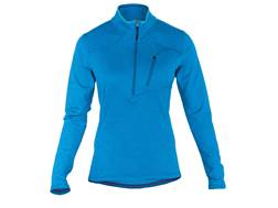 5.11 Women's Glacier Half-Zip Shirt Long Sleeve Synthetic Blend Atlantis Large