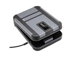 "SnapSafe Treklite Lockbox XL 10""x7""x2"" TSA Combination Lock Polycarbonate Black"