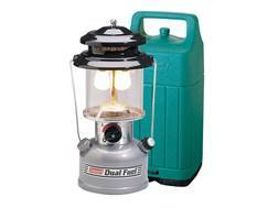 Coleman Premium Dual Fuel 861 Lumen Gas Lantern with Hard Carry Case