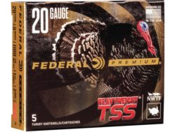 "Federal Premium Heavyweight TSS Turkey Ammunition 20 Gauge 3"" 1-1/2 oz #7 Non-Toxic Tungsten Supe..."