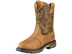 """Ariat Workhog 11"""" WST Waterproof Composite Safety Toe Work Boots Leather"""