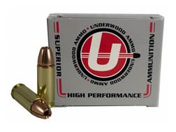 Underwood Ammunition 38 Super +P 105 Grain Lehigh Controlled Fracturing Hollow Point Lead-Free Bo...