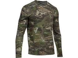 Under Armour Men's UA Mid-Season Reversible Wool Base Layer Crew Shirt Long Sleeve Polyester/Wool...