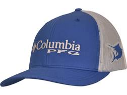 Columbia PFG Mesh Snap Back Ball Cap Cotton