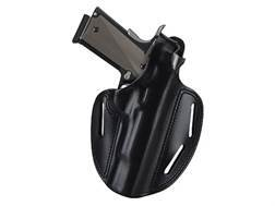 "Bianchi 7 Shadow 2 Holster Right Hand Ruger SP101 2.5"", 3"", S&W J-Frame 3"" Barrel Leather Black"