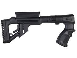 FAB Defense Tactical Side Folding Buttstock with Adjustable Cheek Rest Remington 870 Synthetic Black