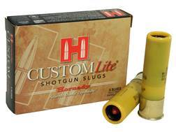 "Hornady Custom Lite Ammunition 20 Gauge 2-3/4"" 250 Grain Flex Tip eXpanding Sabot Slug Box of 5"