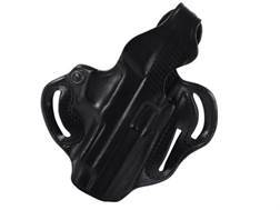 DeSantis Thumb Break Scabbard Belt Holster Right Hand Sig Sauer P220R, P226R Leather Black