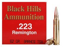 Black Hills Ammunition 223 Remington 62 Grain Barnes Triple-Shock X Bullet Hollow Point Lead-Free...
