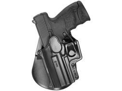 Fobus Standard Paddle Holster Left Hand Glock 20, 21, 21SF, 40, 41 Polymer Black
