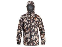 First Lite Men's Vapor Stormlight Rain Jacket Synthetic Blend ASAT Camo XL