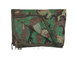 Military Surplus Poncho Liner Grade 1 Woodland Camo
