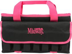 MidwayUSA Tactical Pistol Case Black and Pink