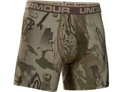 "Under Armour Men's UA Ridge Reaper 6"" Boxerjock 2.0 Polyester Ridge Reaper Barren Camo 2XL"