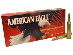 Federal American Eagle Ammunition 338 Lapua Magnum 250 Grain Pointed Soft Point Box of 20