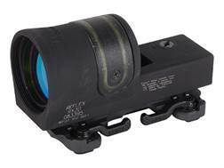 Trijicon RX30-23 Reflex Sight 1x 42mm 6.5 MOA Dual-Illuminated Amber Dot with ARMS Throw Lever Mo...