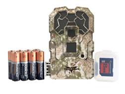 Stealth Cam Trail Hawk No Glo Infrared HD Game Camera Combo 16 Megapixel Kryptek Highlander Camo