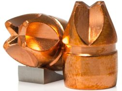 Lehigh Defense Xtreme Defense Bullets 44 Caliber (429 Diameter) 160 Grain Solid Copper Fluid Tran...