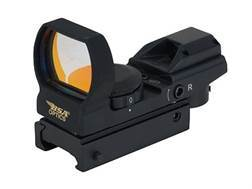 BSA Pano Reflex Red Dot Sight 4 Reticle (3 MOA Dot, Crosshair, 10 MOA Dot Crosshair and 65 MOA Ci...