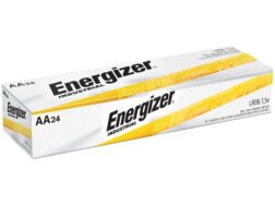 Energizer Battery AA Industrial EN91 1.5 Volt Alkaline Pack of 24