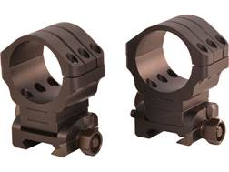 Warne Angle Eye 90 MOA Adjustable Picatinny-Style Rings Matte