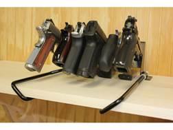 HySkore Six Gun Speed Rack Steel Black