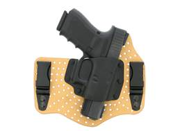 Galco KingTuk Air Tuckable Inside the Waistband Holster Right Hand Glock 43 Leather and Kydex Tan
