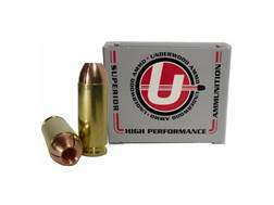 Underwood Ammunition 10mm Auto 140 Grain Lehigh Controlled Fracturing Hollow Point Lead-Free Box ...