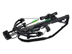 SA Sports Empire Aggressor Crossbow Package with 4x32 Multi-Range Scope Black